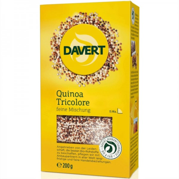 Quinoa Tricolore Bio, 200g - Davert