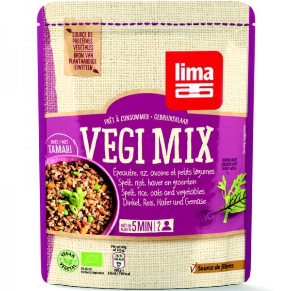 Vegi Mix Dinkel, Reis, Hafer & Gemüse Bio, 250g - Lima
