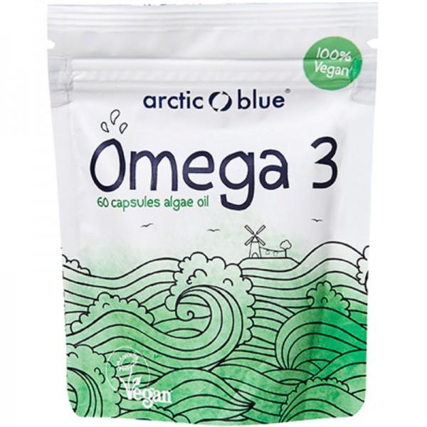 Omega 3 Algenöl Kapseln, 60 Stück - Arctic Blue