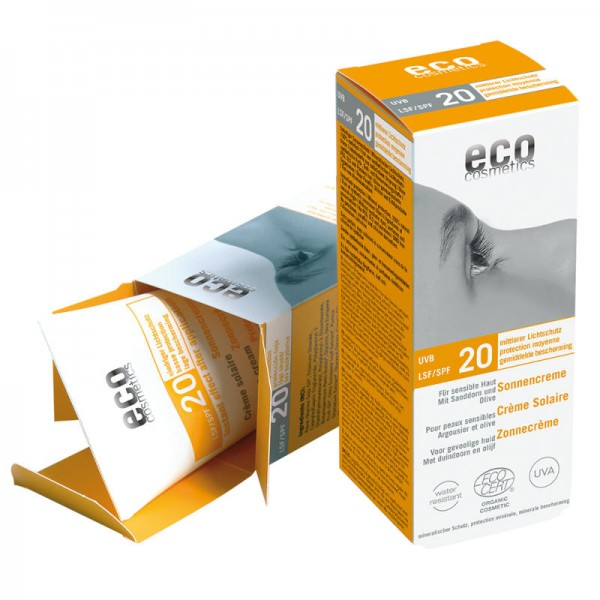 Sonnencreme LSF 20, 75ml - eco cosmetics