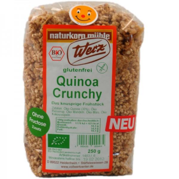 Quinoa Crunchy Bio, 250g - Werz