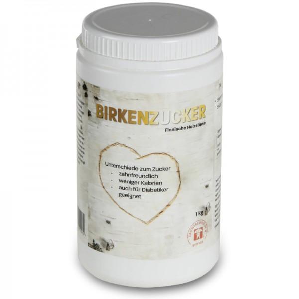 Xylit Birkenzucker Dose, 1kg - Tautona