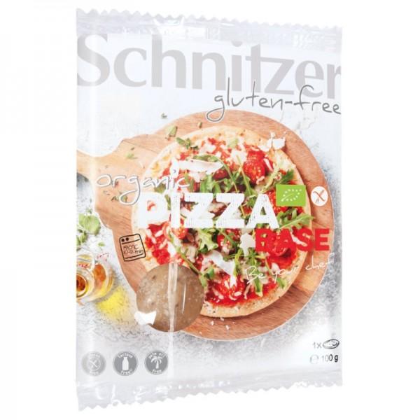 Pizza Base 1 Stück glutenfrei Bio, 100g - Schnitzer