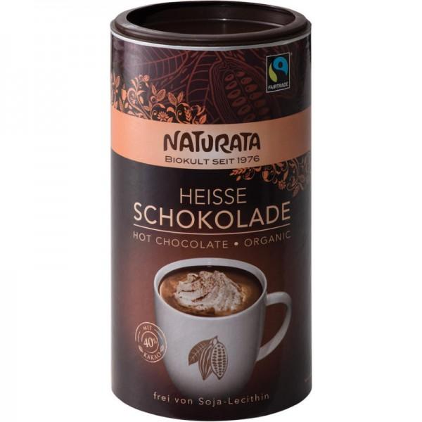 Heisse Schokolade Bio, 350g - Naturata