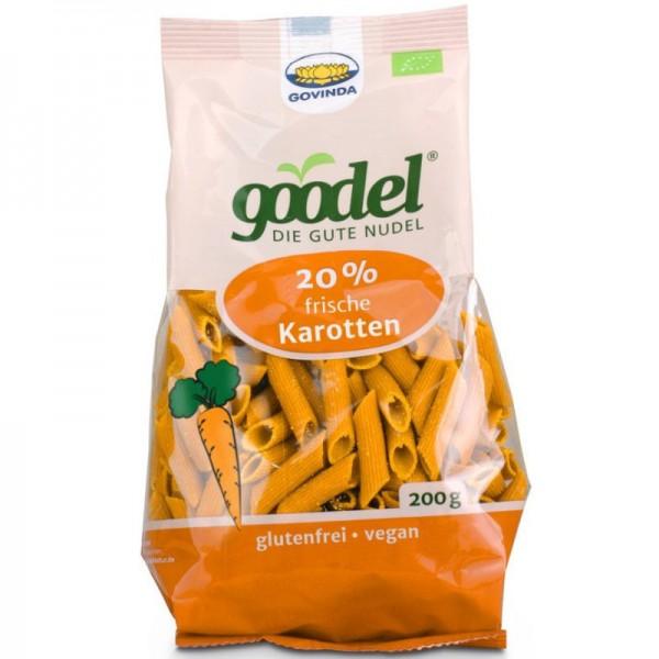 goodel 20% frische Karotten Penne Bio, 200g - Govinda