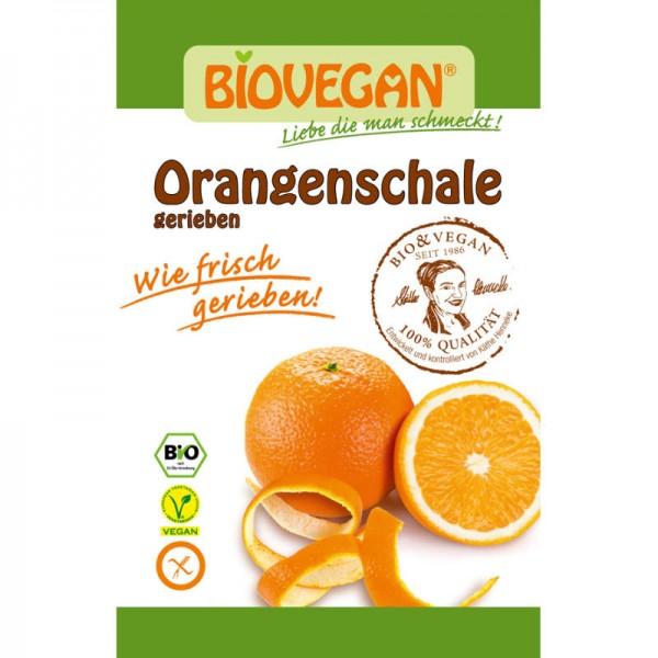 Orangenschale gerieben Bio, 9g - Biovegan