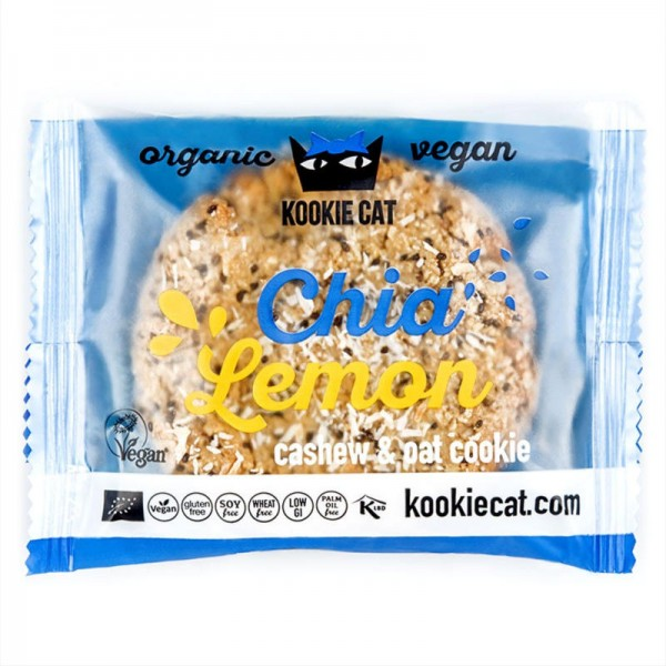 Chia Lemon Bio, 50g - Kookie Cat
