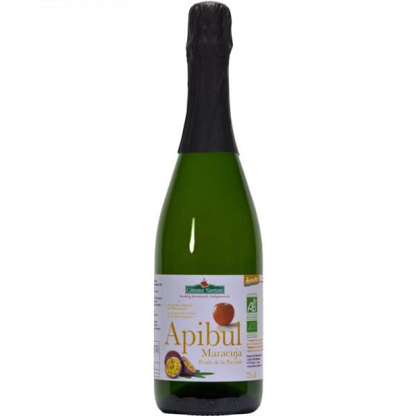 Apibul Sekt Maracuja & Apfelsaft alkoholfrei Bio, 750ml - Les Côteaux Nantais