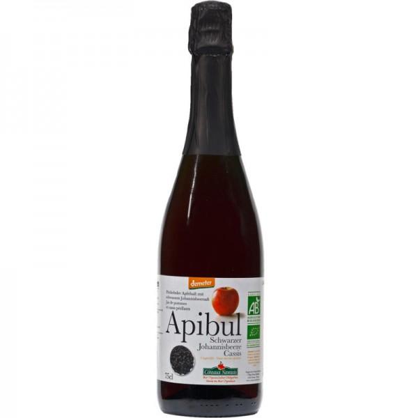 Apibul Sekt Schwarzer Johannisbeere & Apfelsaft alkoholfrei Bio, 750ml - Les Côteaux Nantais