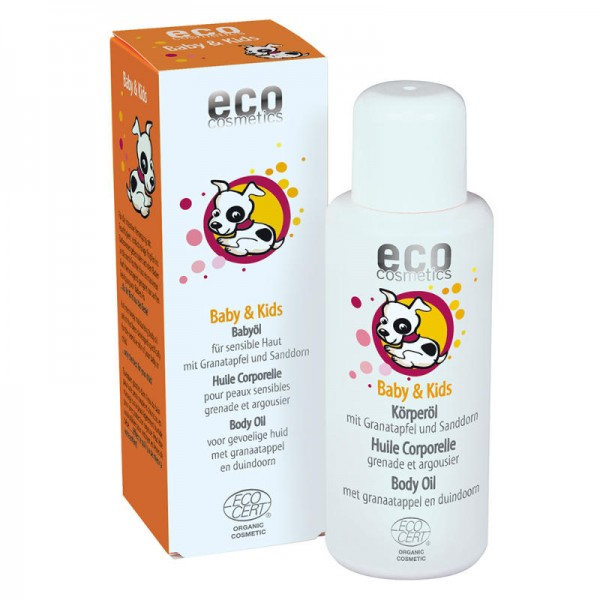 Baby & Kids Öl mit Granatapfel & Sanddorn, 100ml - eco cosmetics
