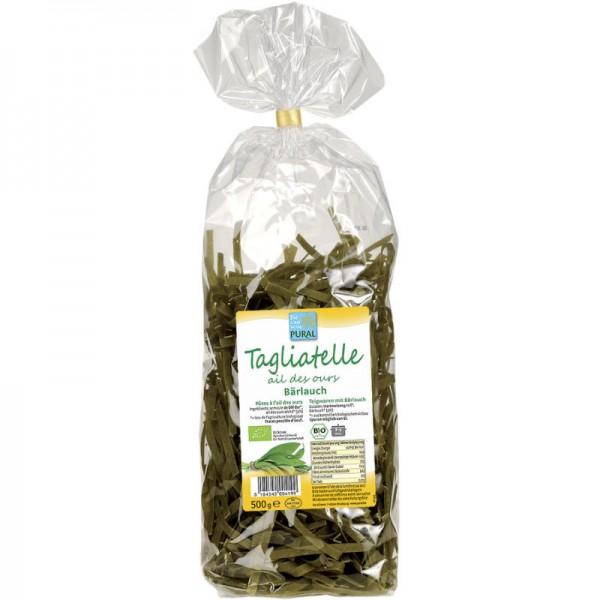 Tagliatelle Bärlauch Bio, 500g - Pural