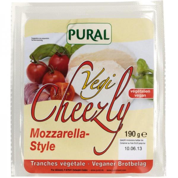 Vegi Cheezly Mozzarella-Style, 190g - Pural