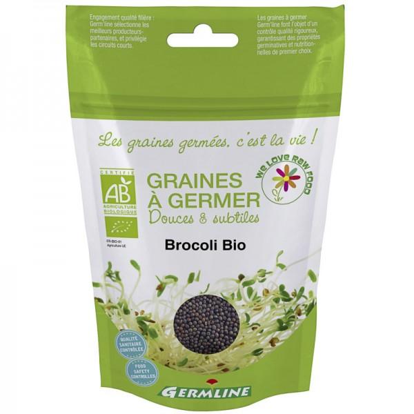 Keimsaat Broccoli Beutel Bio, 150g - Germline
