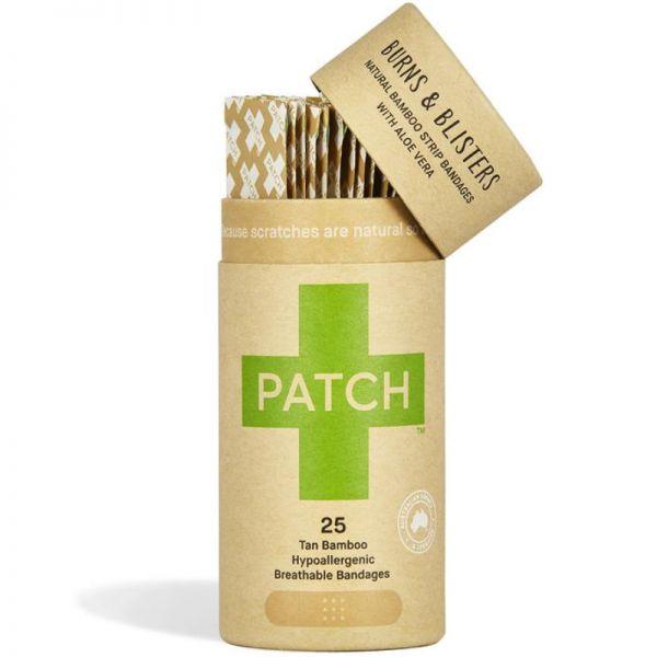 Bambus Pflaster mit Aloe Vera, 25 Stück - Patch