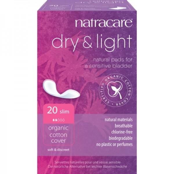 Inkontinenzbinde dry & light 'slim' Bio-Baumwolle, 20 Stück - Natracare