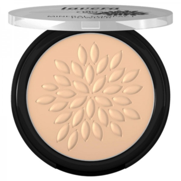 Mineral Compact Powder Ivory 01, 7g  - Lavera