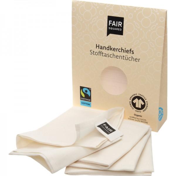 Stofftaschentücher, 3 Stück - Fair Squared
