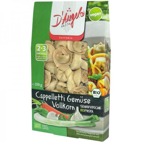 Cappelletti Gemüse Vollkorn Bio, 250g - D'Angelo Pasta