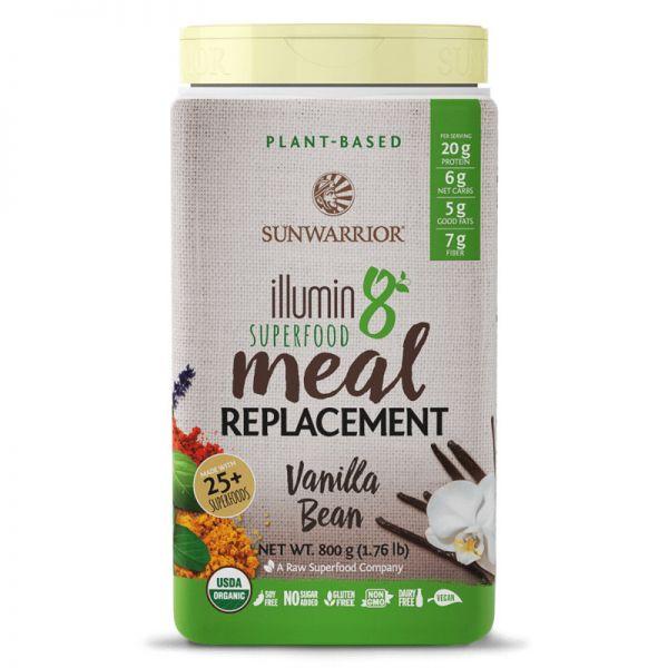 Illumin8 Superfood Meal Replacement Bio, 800g - Sunwarrior