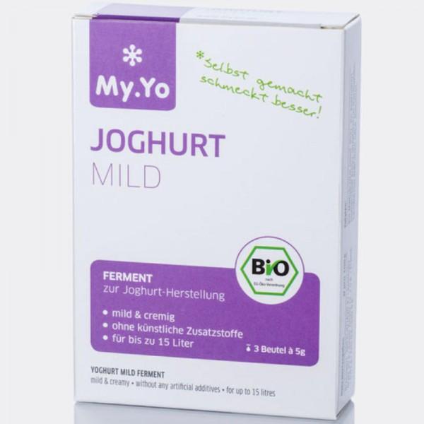 Joghurt Ferment mild Bio, 3x 5g - My.Yo