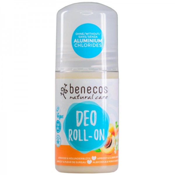 Deo-Roll-on Aprikose & Holunderblüte, 50ml - Benecos