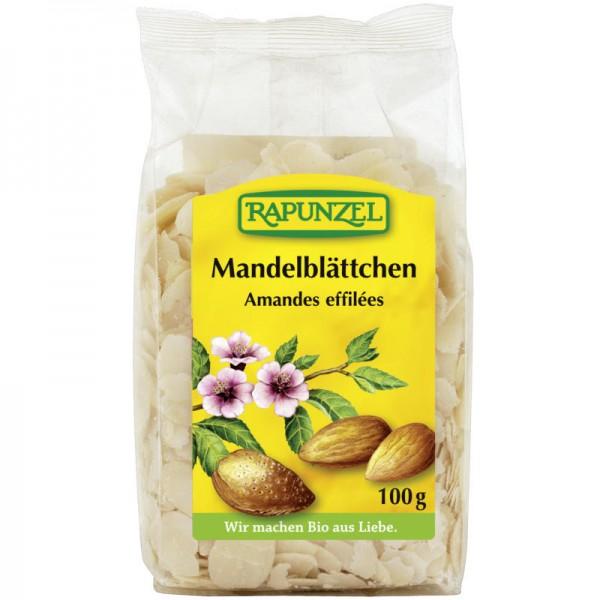 Mandelblättchen Bio, 100g - Rapunzel