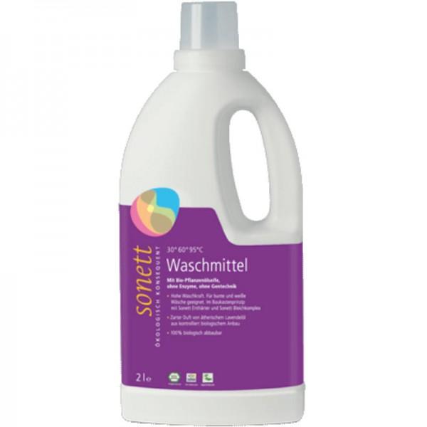 Waschmittel flüssig 30° 60° 95°C Lavendel, 2L - Sonett