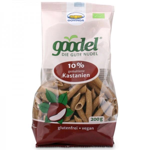goodel 10% gemahlene Kastanien Penne Bio, 200g - Govinda