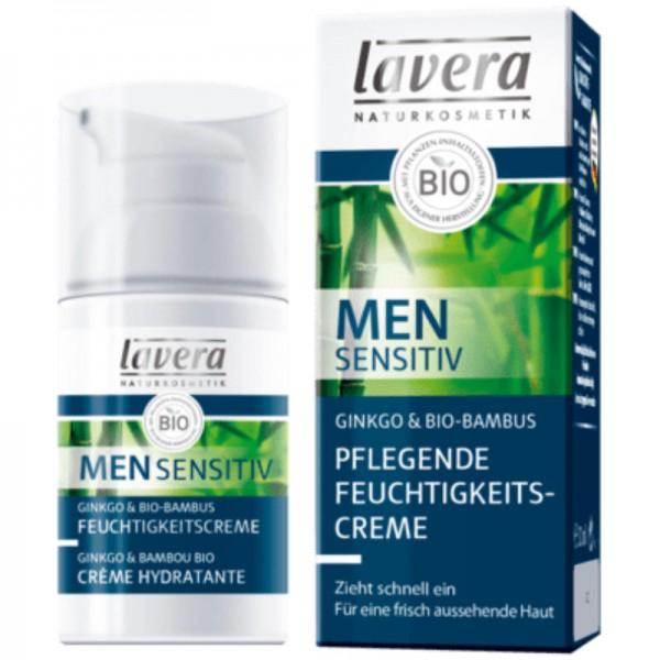 Pflegende Feuchtigkeitscreme Men sensitiv, 30ml - Lavera