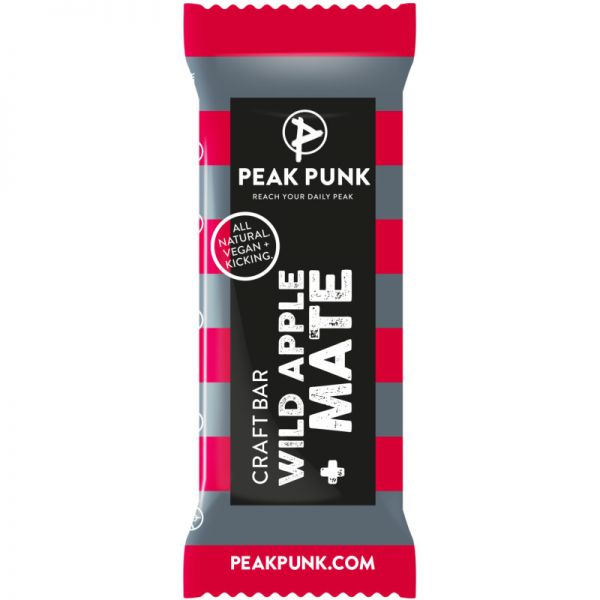 Craftbar Wild Apple + Mate Bio, 38g - Peak Punk