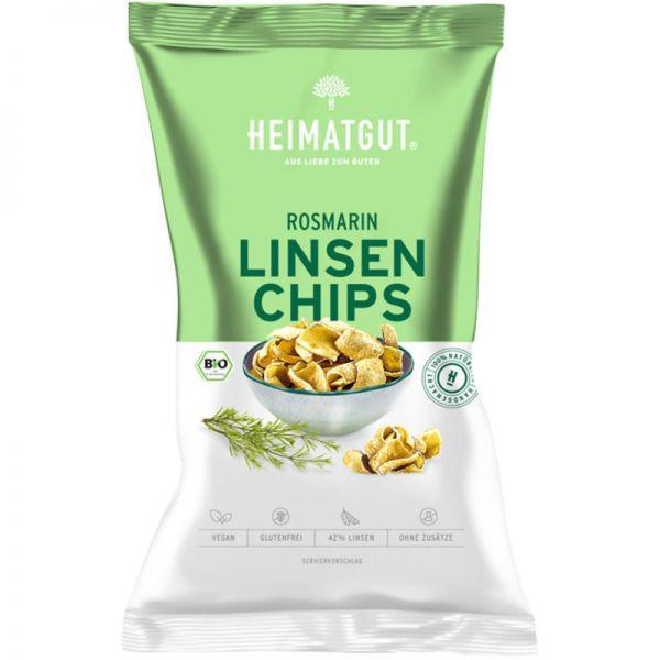Linsen Chips Rosmarin Bio, 75g - Heimatgut
