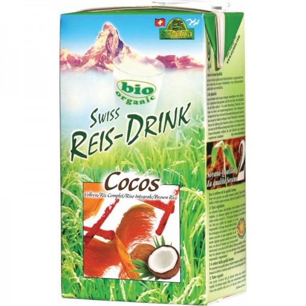 Cocos Swiss Reis-Drink Bio, 1L - Soyana