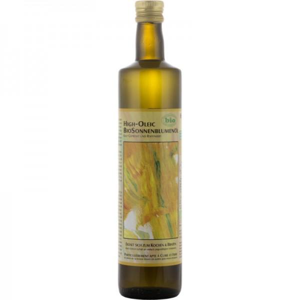 High-Oleic Sonnenblumenöl Bio, 750ml - Soyana