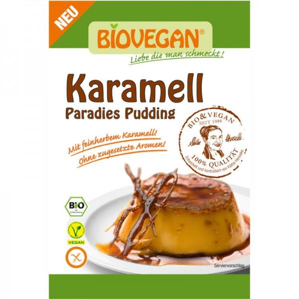 Karamell Paradies Pudding Bio, 43g - Biovegan
