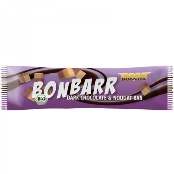 Bonbarr Zartbitter Nougat Riegel Bio, 40g - Bonvita
