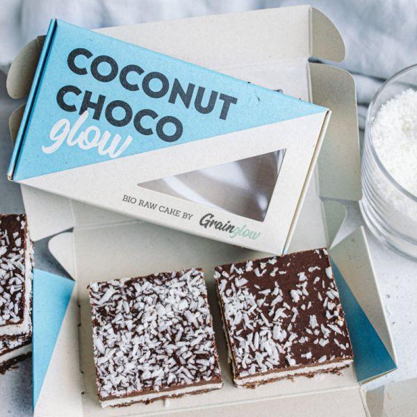 Coconut Choco Glow Bio, 2 Stück - Grainglow
