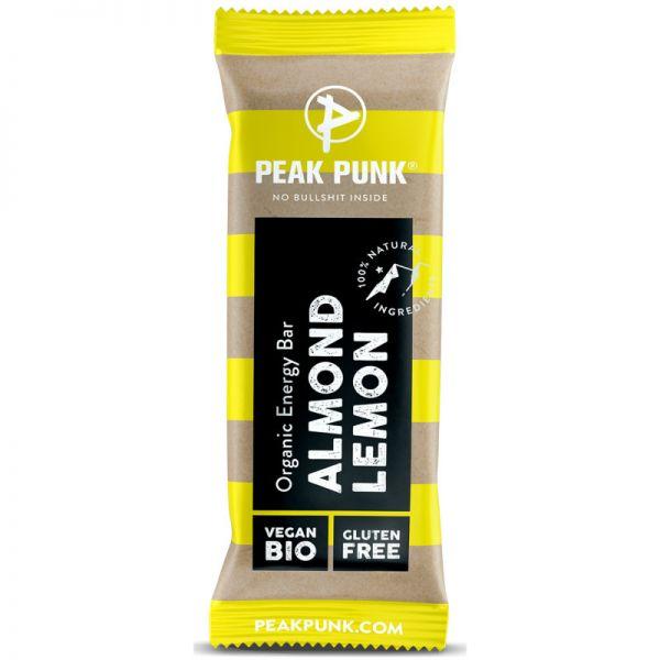 Energy Bar Almond Lemon Bio, 38g - Peak Punk