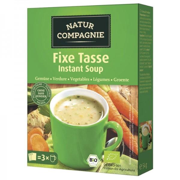Fixe Tasse Gemüse Bio, 3x20g - Natur Compagnie