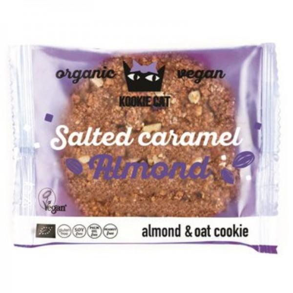 Salted Caramel Almond Bio, 50g - Kookie Cat