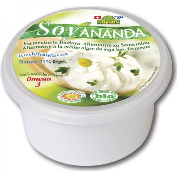 Vegane Sauerrahm-Alternative Soyananda Bio, 200g - Soyana