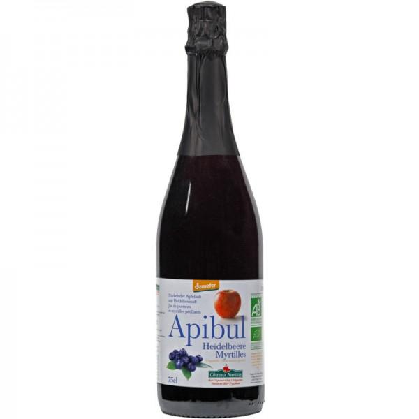Apibul Sekt Heidelbeere & Apfelsaft alkoholfrei Bio, 750ml - Les Côteaux Nantais