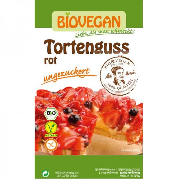 Tortenguss rot Bio, 2 x 7g - Biovegan