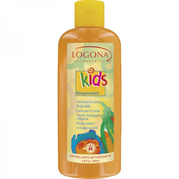Kids Körpermilch, 200ml - Logona