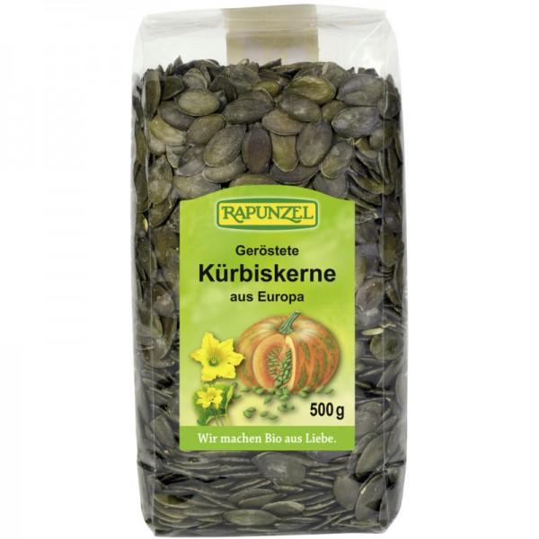 Geröstete Kürbiskerne aus Europa Bio, 500g - Rapunzel