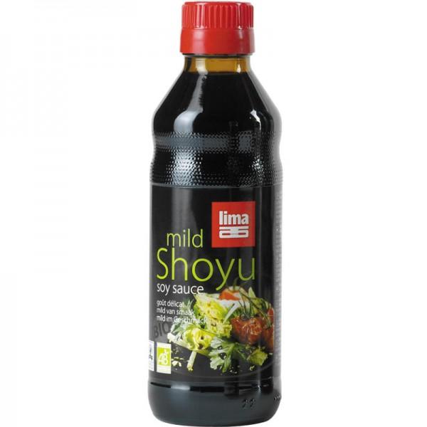 Shoyu mild soya sauce Bio, 250ml - Lima