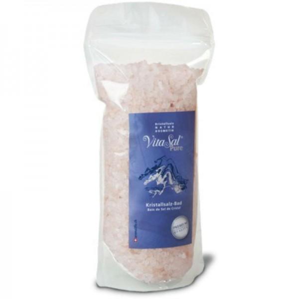 Kristallsalz-Bad Pure grob Beutel, 1kg - VitaSal