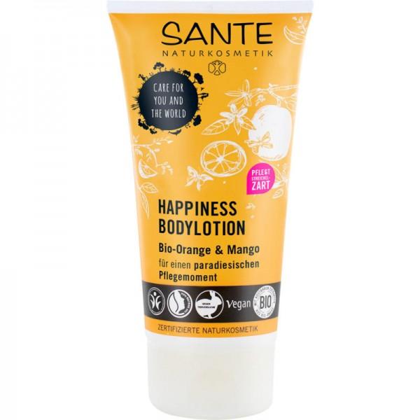 Happiness Bodylotion Bio-Orange & Mango, 150ml - Sante