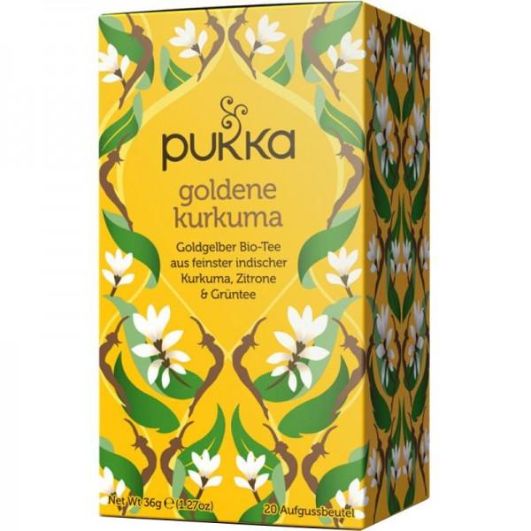 Goldene Kurkuma Tee Bio, 36g - Pukka
