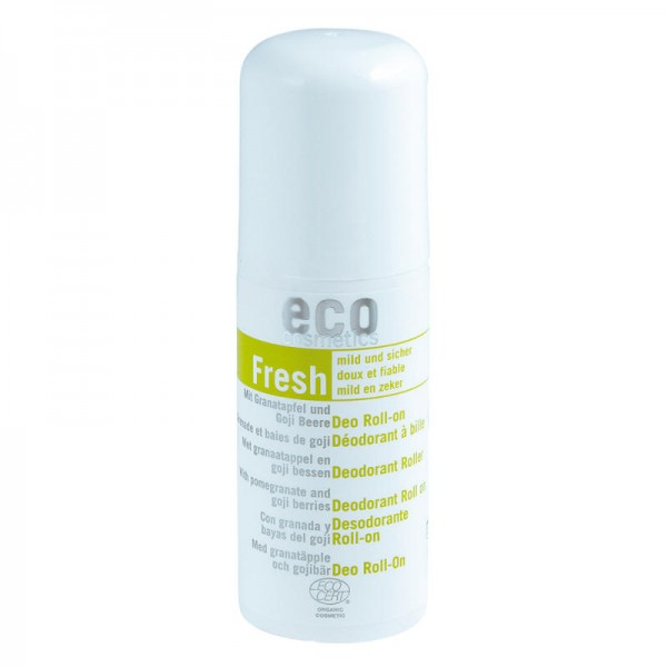 Deo Roll-on mild & sicher mit Granatapfel & Goji, 50ml - eco cosmetics