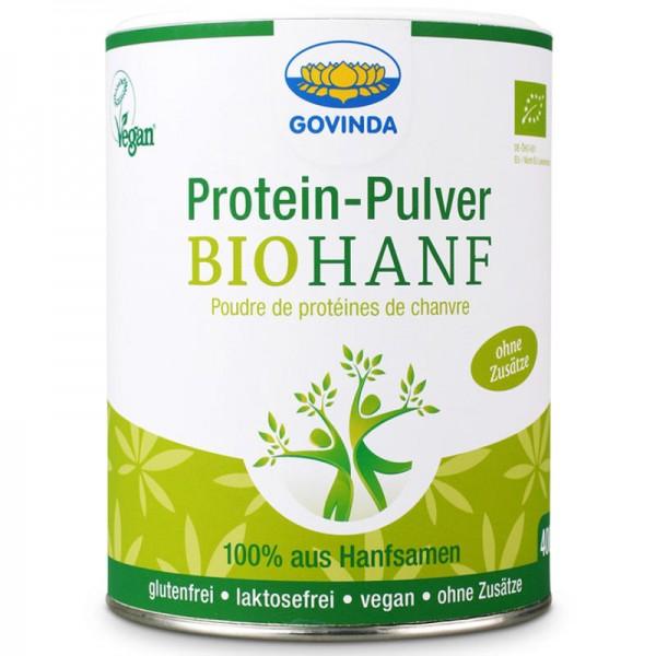 Hanf Protein-Pulver Bio, 400g - Govinda